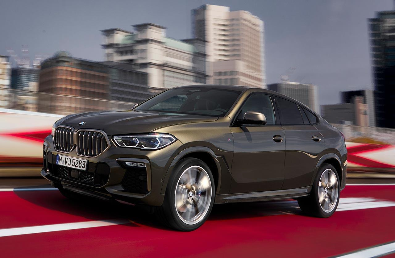 BMW lanzó el nuevo X6 en Argentina