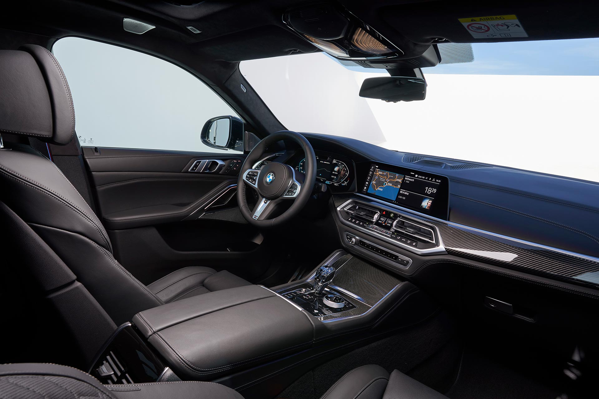 Interior Nuevo BMW X6