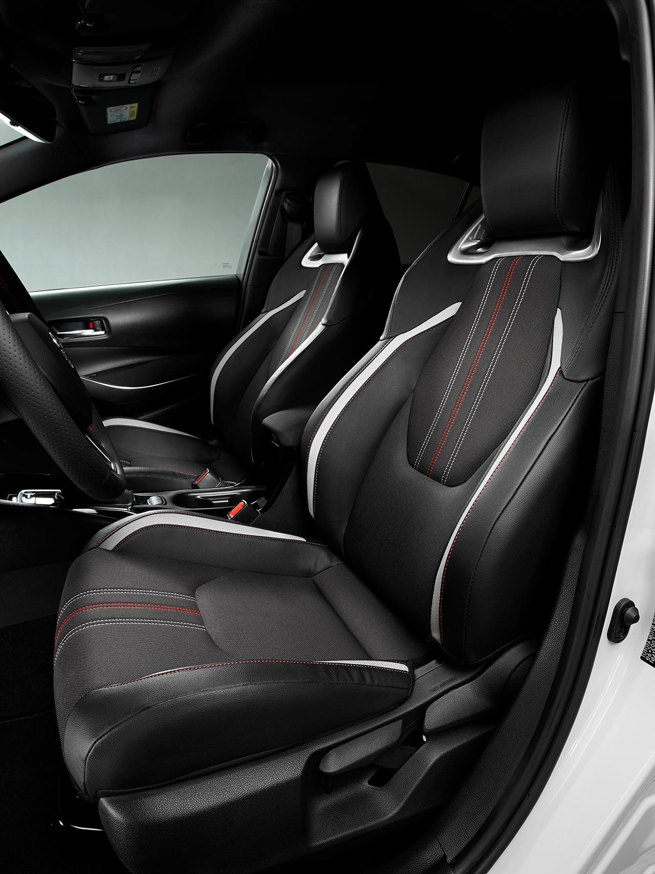 Butacas Toyota Corolla GR Sport sedán