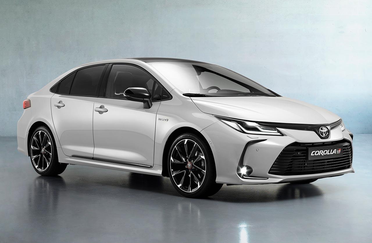 Toyota Corolla GR Sport sedán para Europa