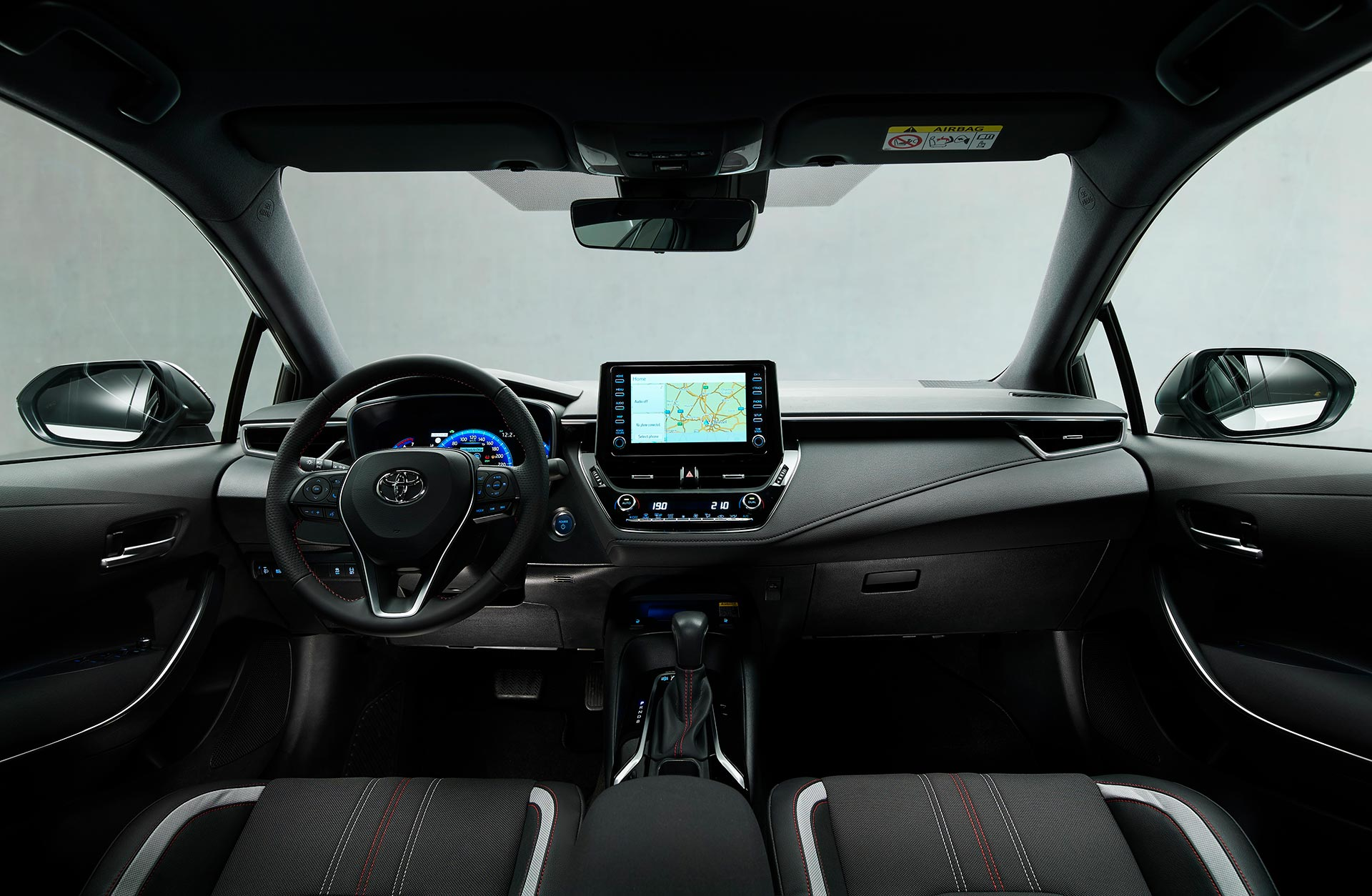 Interior Toyota Corolla GR Sport sedán
