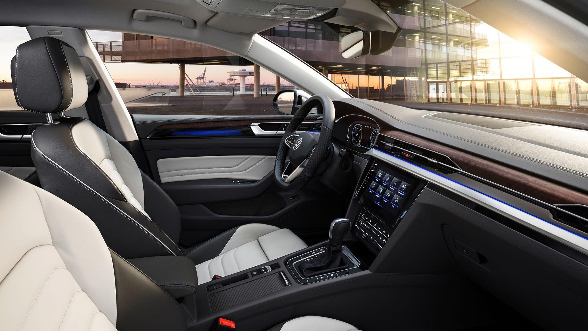 Interior nuevo Volkswagen Arteon 2021