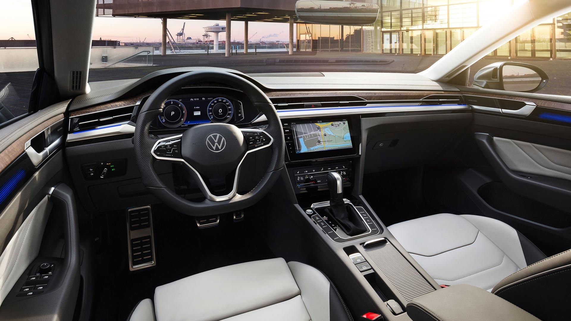 Interior Volkswagen Arteon 2021
