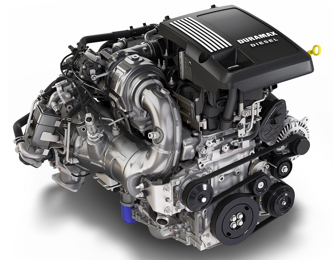 Motor Duramax Chevrolet Silverado LTZ 2020