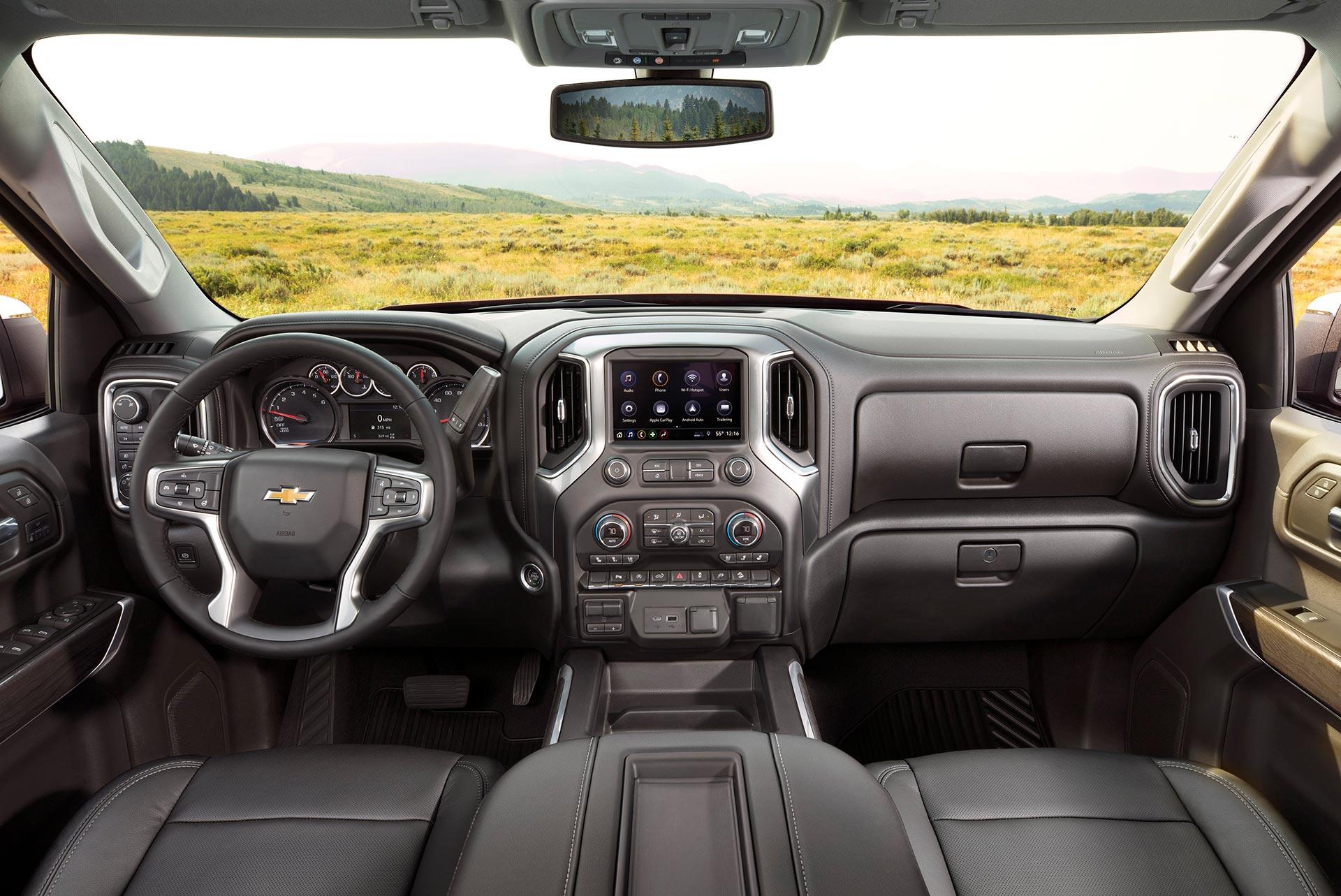 Interior Chevrolet Silverado LTZ 2020