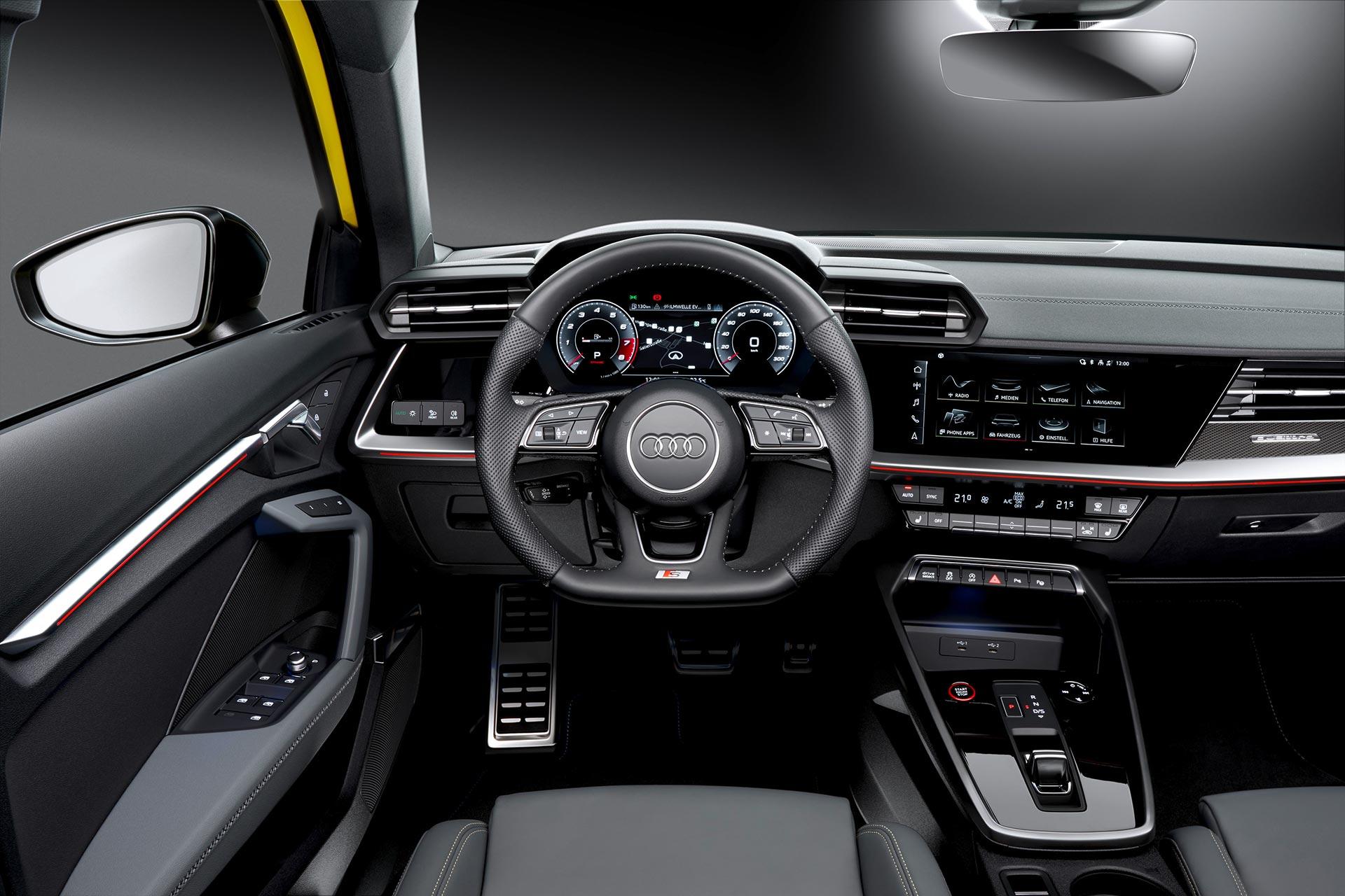 Interior Nuevo Audi S3 2021