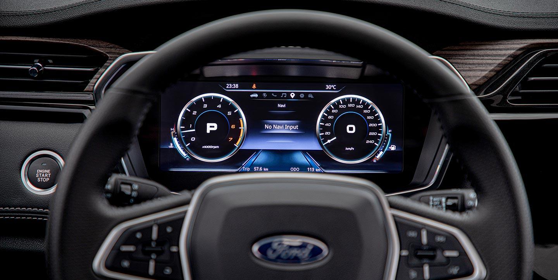 Interior Ford Territory