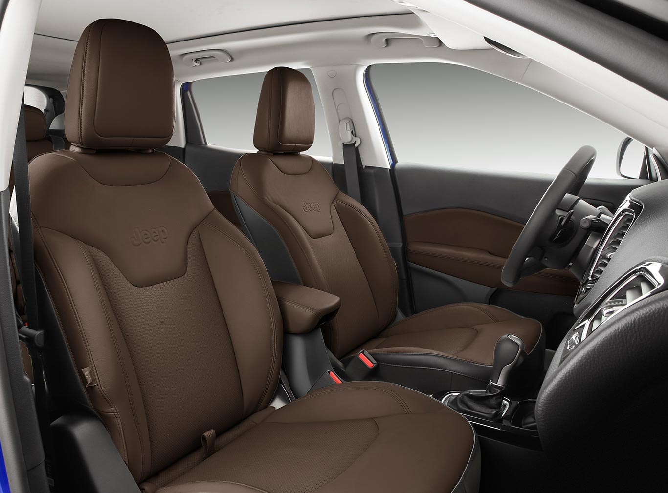 Interior Jeep Compass 2021 (Limited)