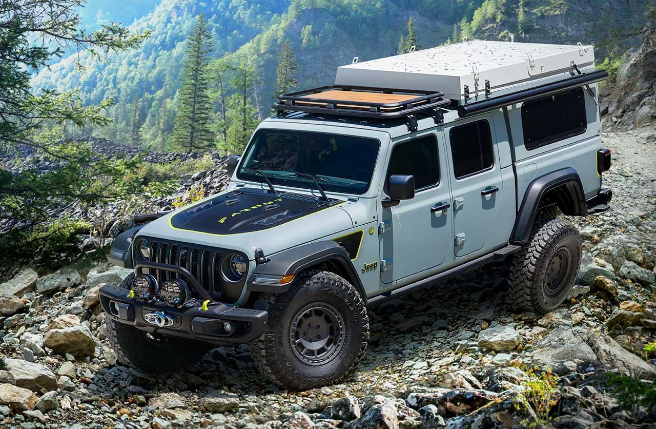 Antes de su llegada al país surge un llamativo prototipo del Jeep Gladiator