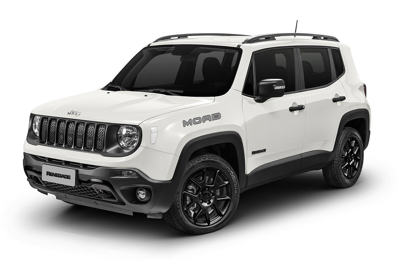 El Jeep Renegade sumó la versión Moab