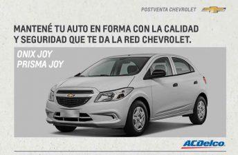 Postventa: Chevrolet presenta sus nuevos Kits de Mantenimiento