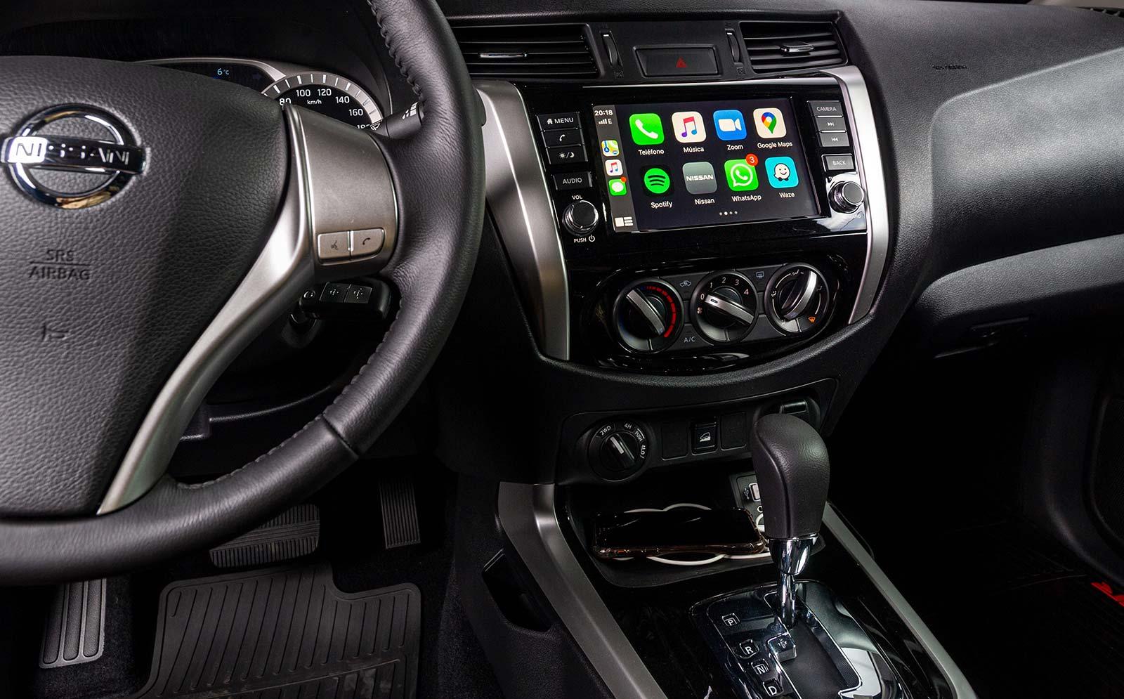 Interior Nissan Frontier X-Gear