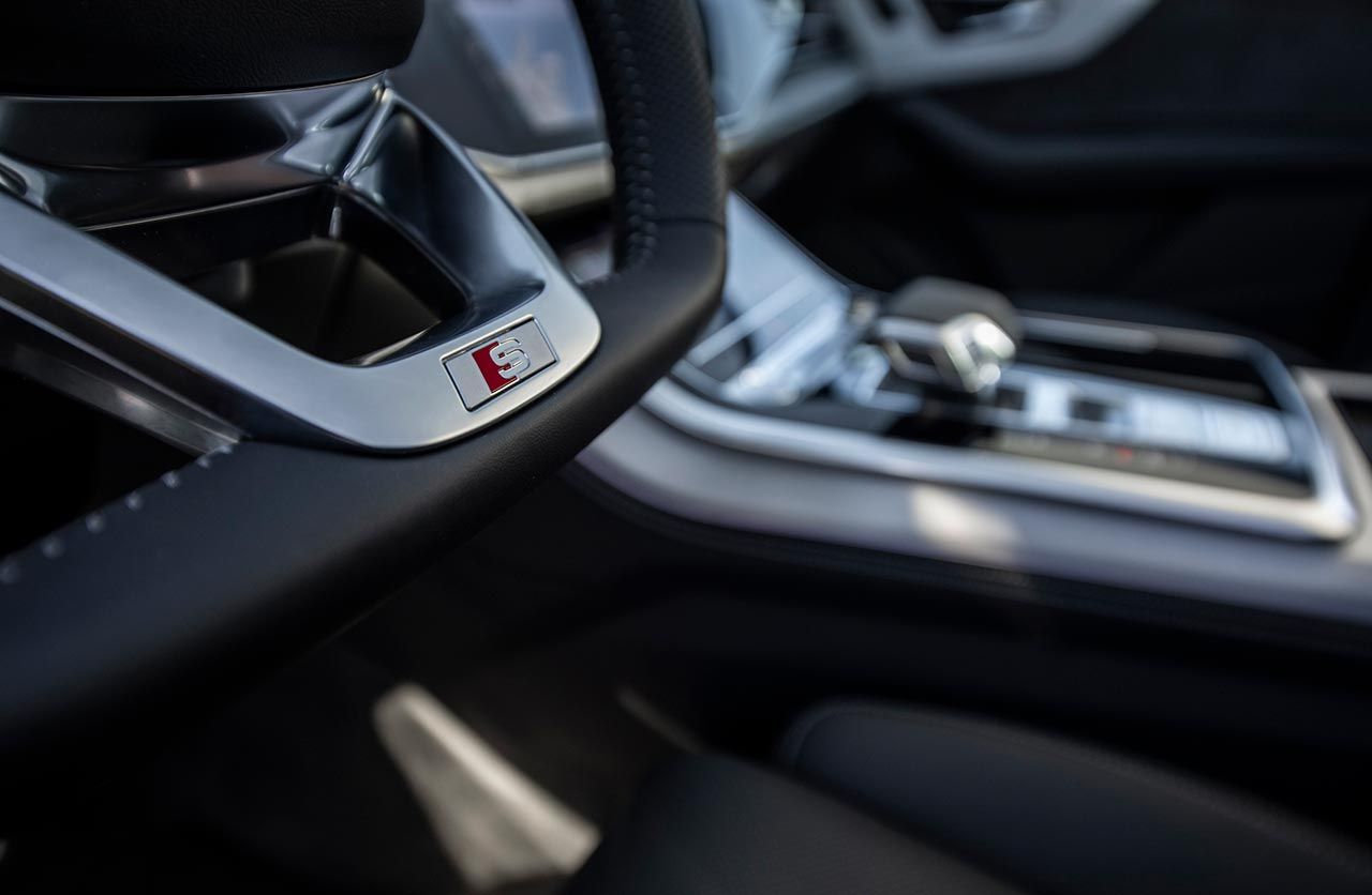 Interior Nuevo Audi Q7 S line