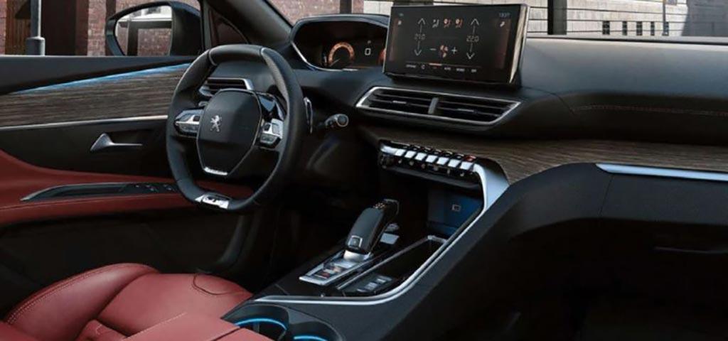 Interior Nuevo Peugeot 5008 / 3008 restyling 2021