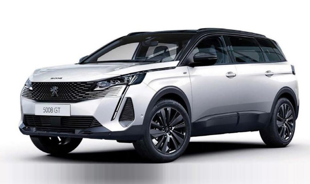 Nuevo Peugeot 5008 restyling 2021