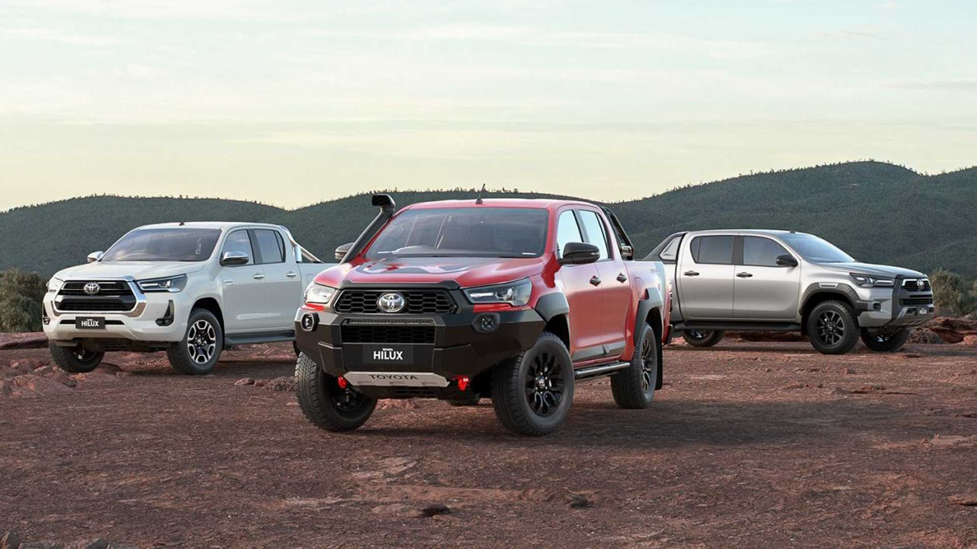 Toyota Hilux Rugged X 2020