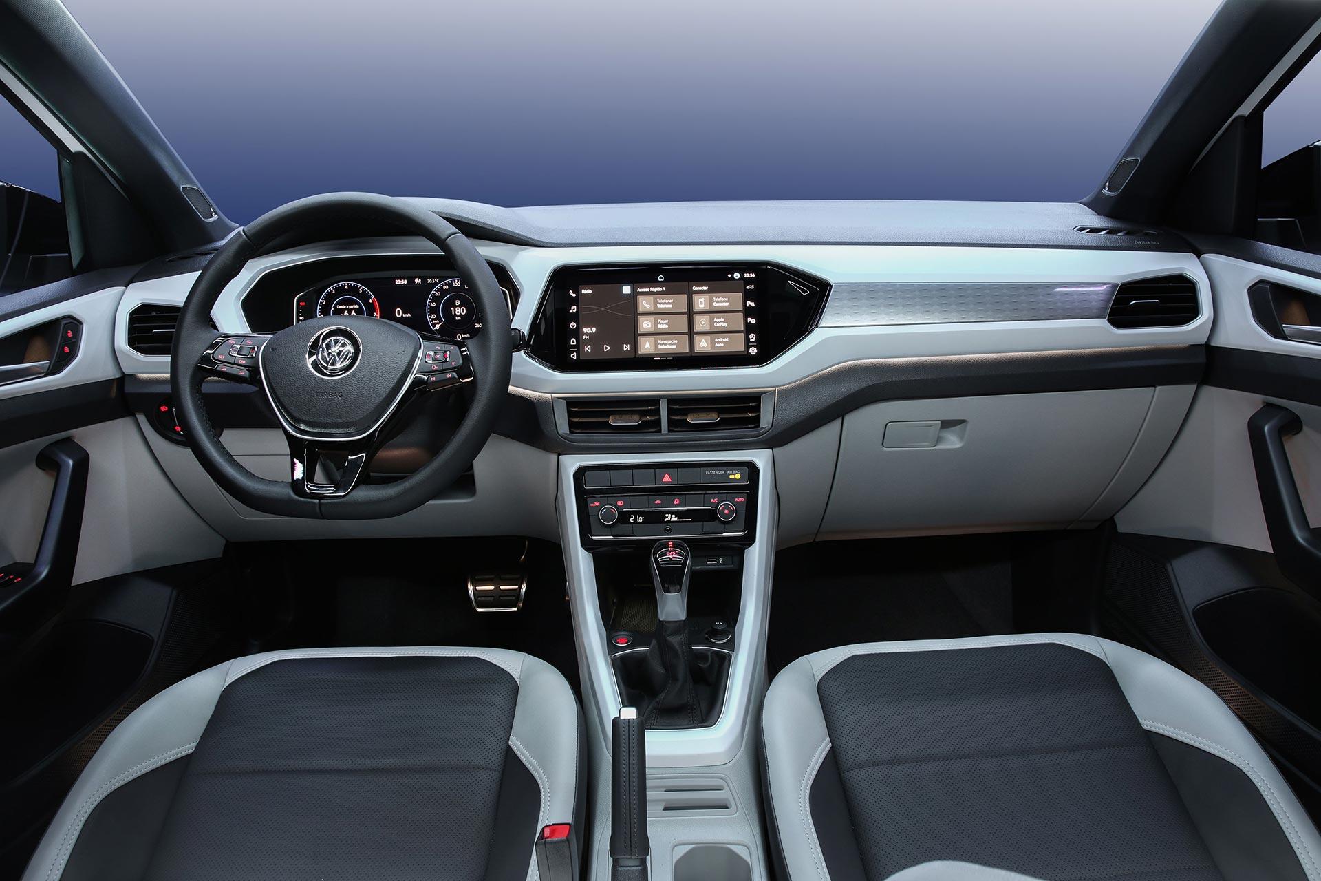 Interior Volkswagen T-Cross 2021