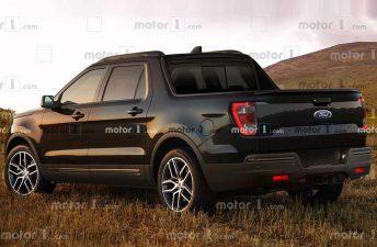 Anticipan el diseño de la Ford Maverick
