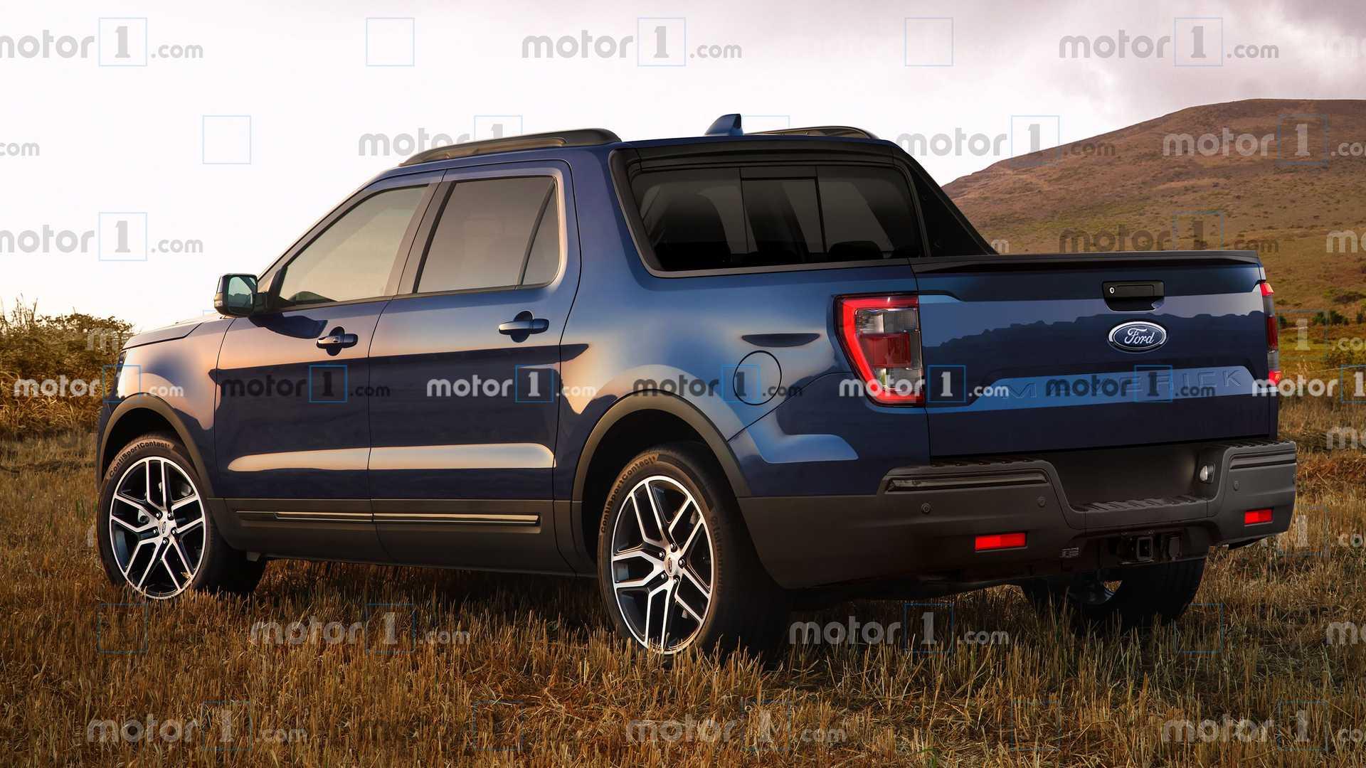 Ford Maverick render