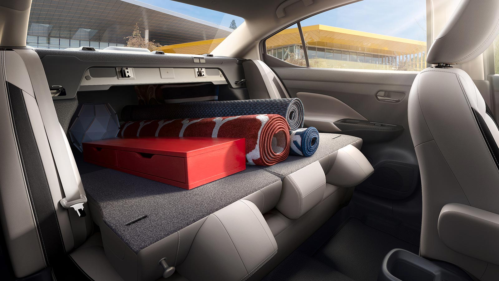 Baúl Nuevo Nissan Versa