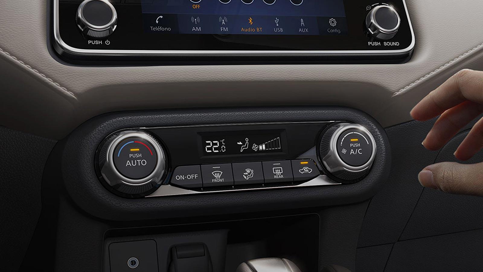 Climatizador Nuevo Nissan Versa