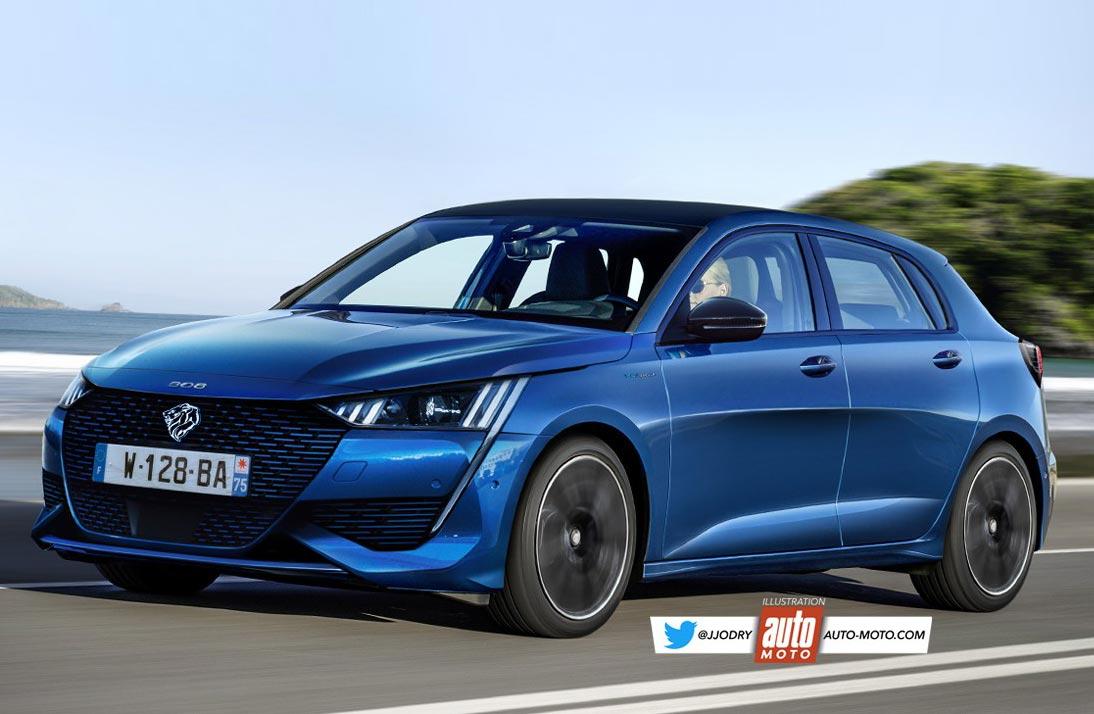 Así sería el futuro Peugeot 308