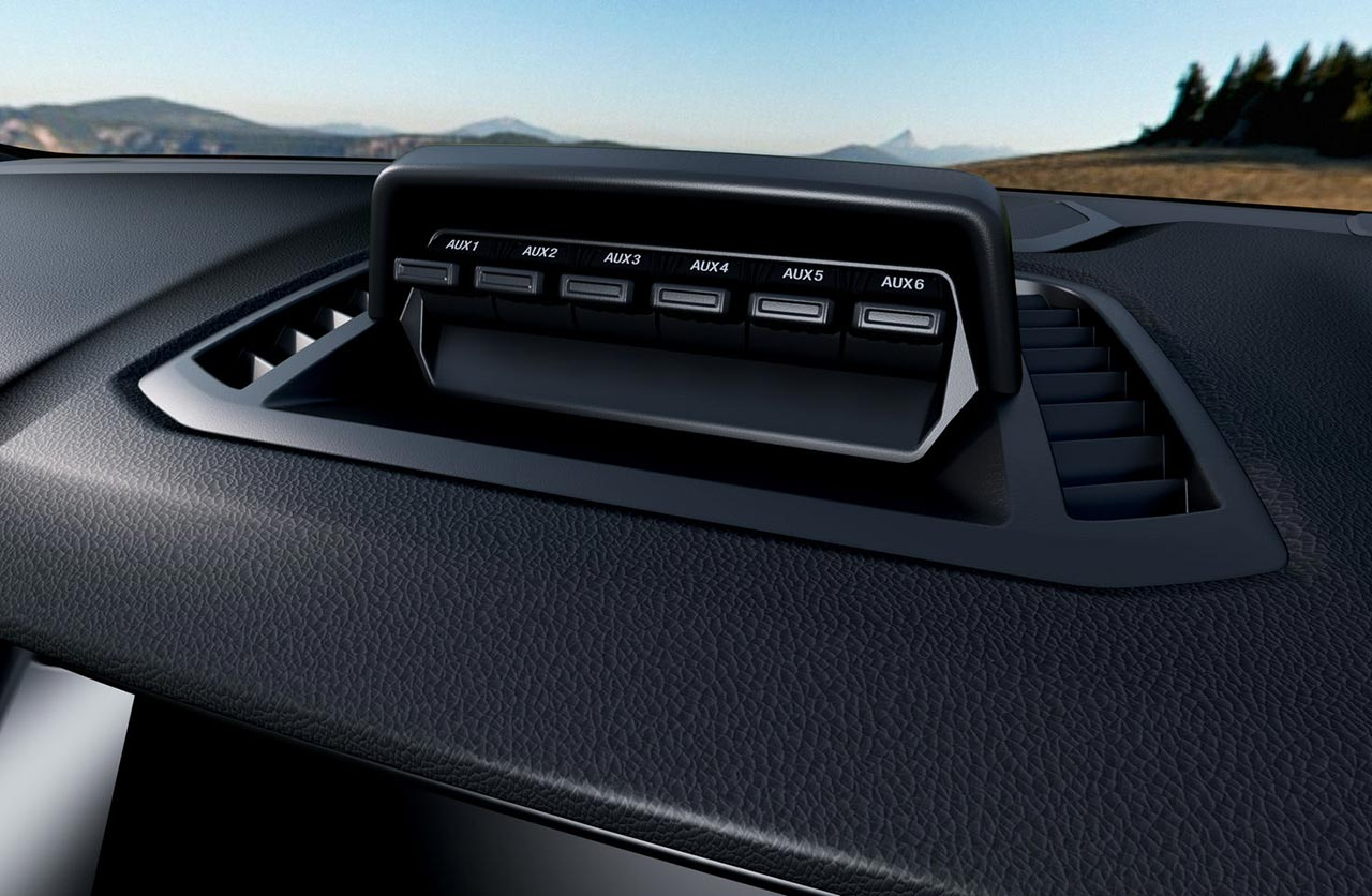 Interior Ford Ranger FX4 Max
