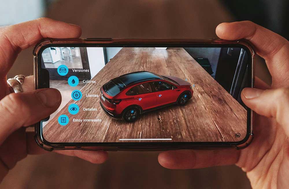 Realidad aumentada: Volkswagen presentó la app del nuevo Nivus