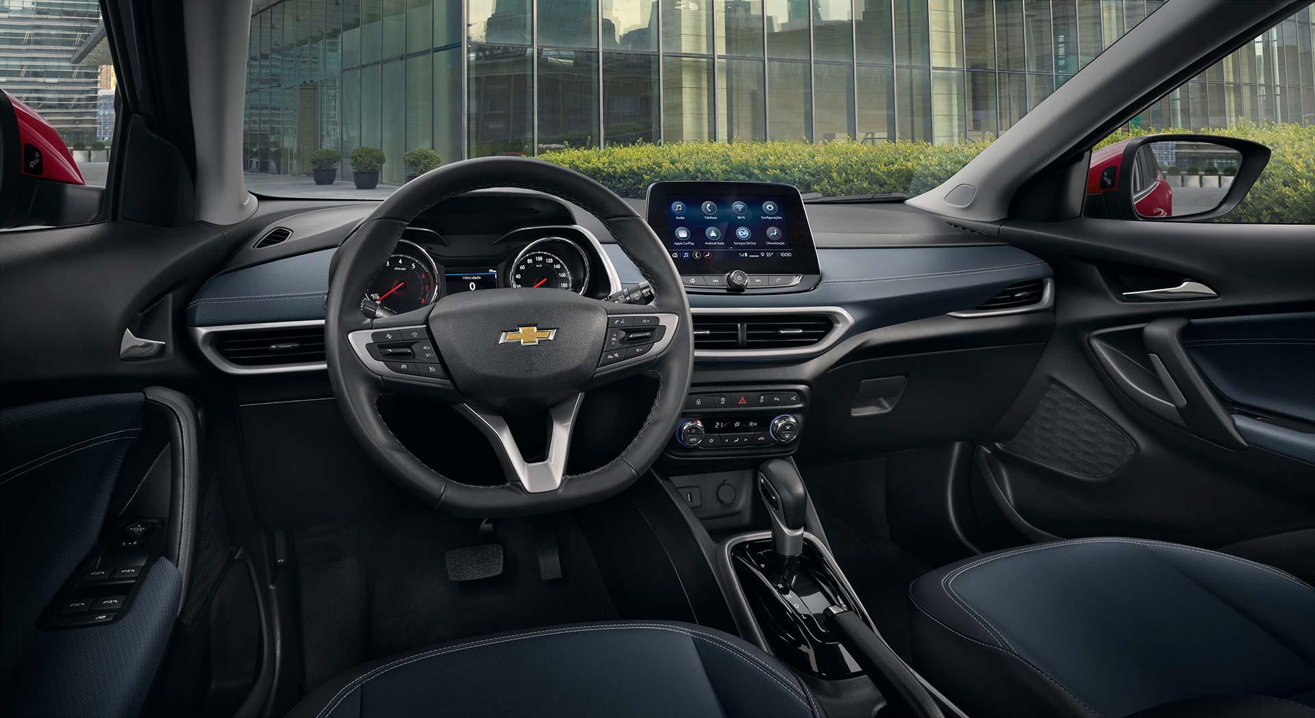 Interior Chevrolet Tracker 1.0 Turbo Premier