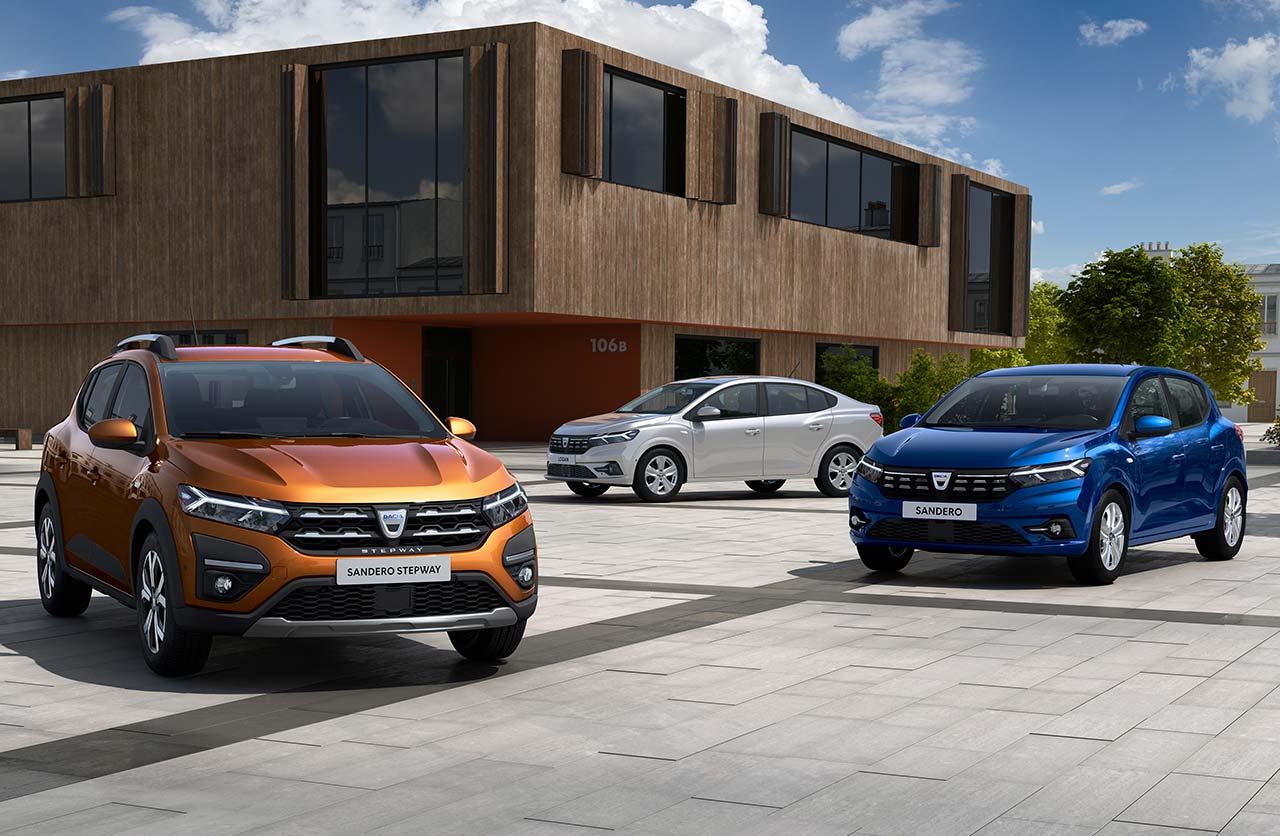 Nueva generación para los Renault Logan, Sandero y Stepway