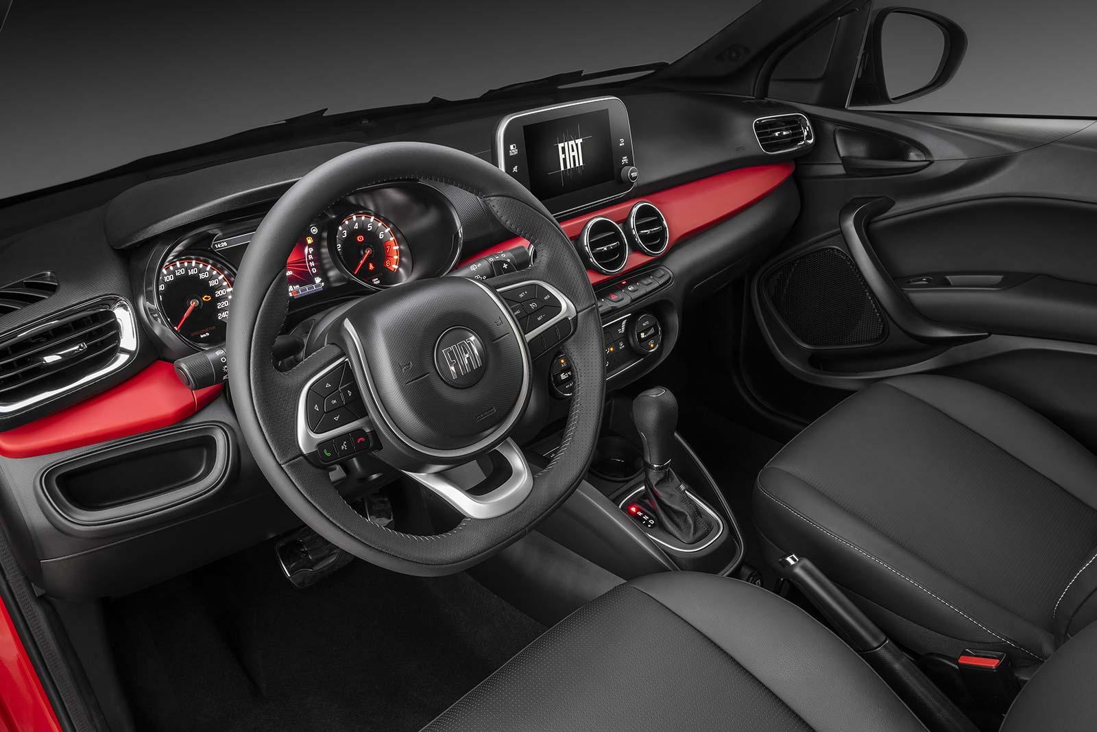 Interior Fiat Argo 2021 HGT