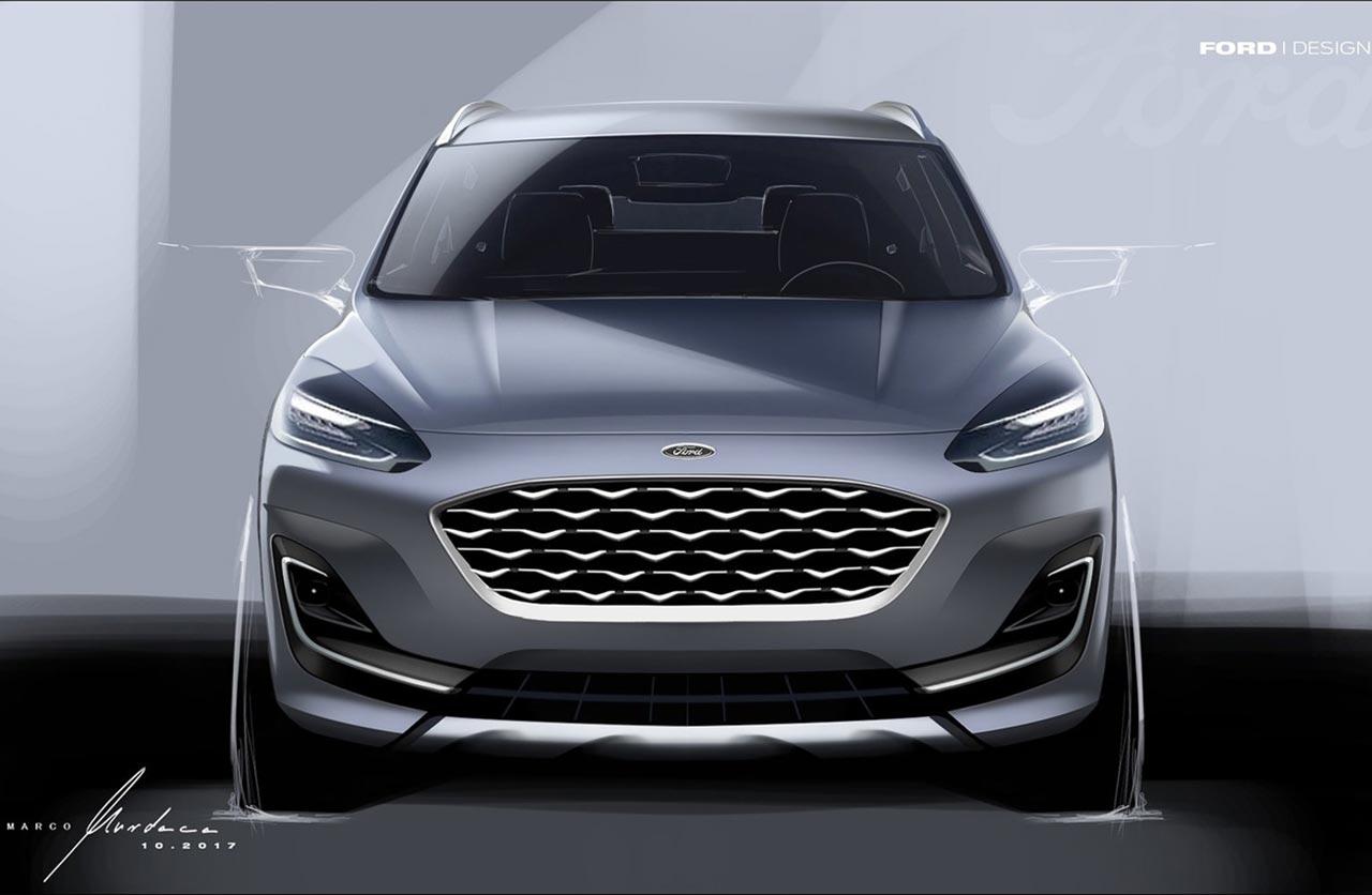 Ford Kuga 2020 boceto
