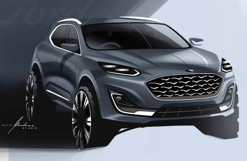 La próxima Ford EcoSport, ¿con el sello de Pininfarina?