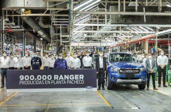 Ford produjo 900.000 pick ups Ranger en Argentina