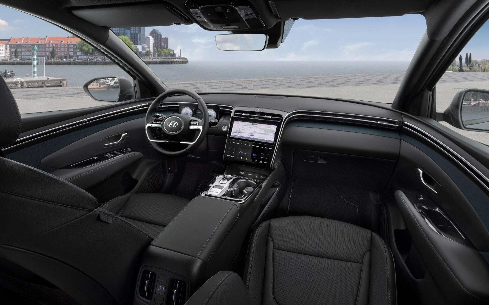 Interior Nueva Hyundai Tucson 2021