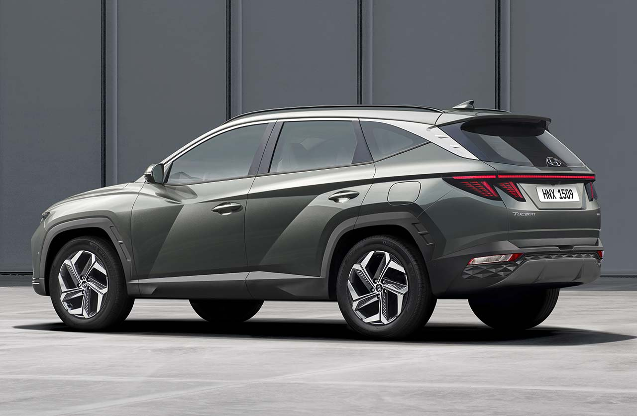 Nueva Hyundai Tucson larga 2021