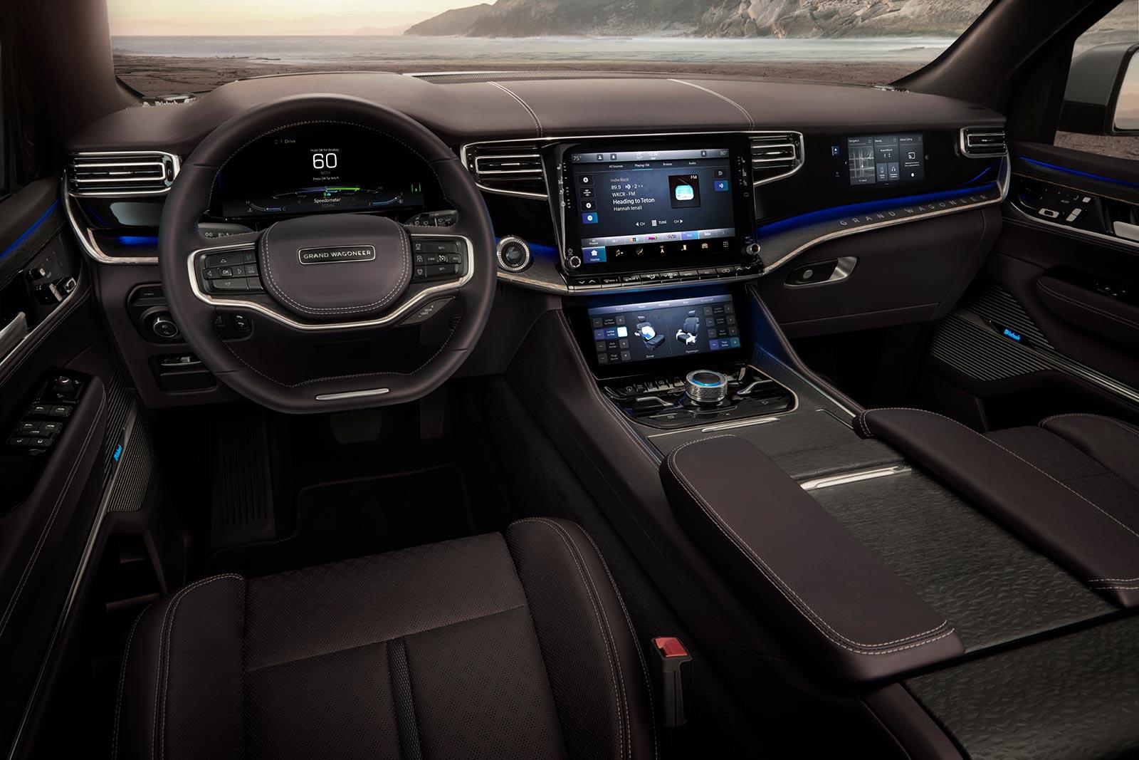 Interior Jeep Grand Wagoneer Concept