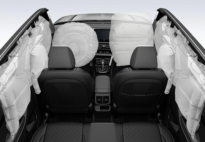 Seguridad - airbags Kia Seltos