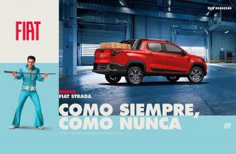Evocando a Elvis Presley: cómo es el comercial de la Nueva Fiat Strada