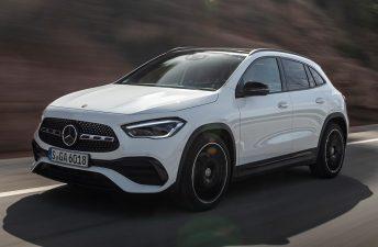 Llegó la nueva Mercedes-Benz GLA