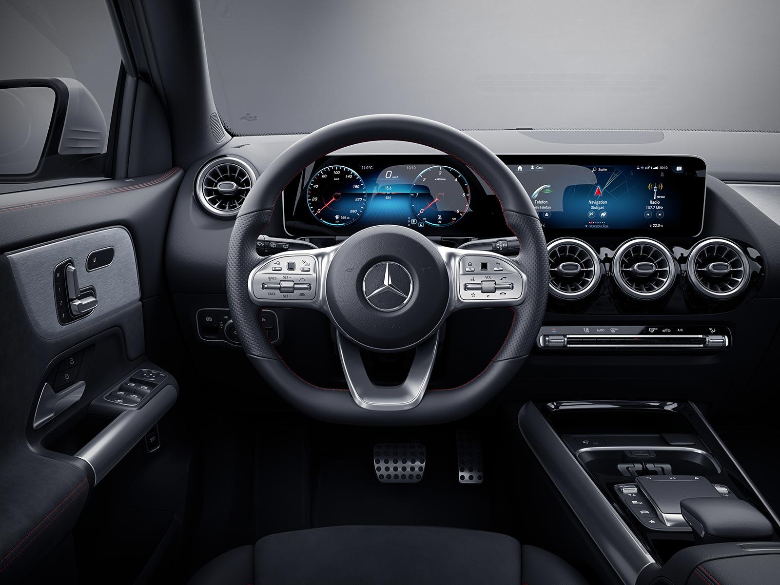 Interior Nueva Mercedes-Benz GLA