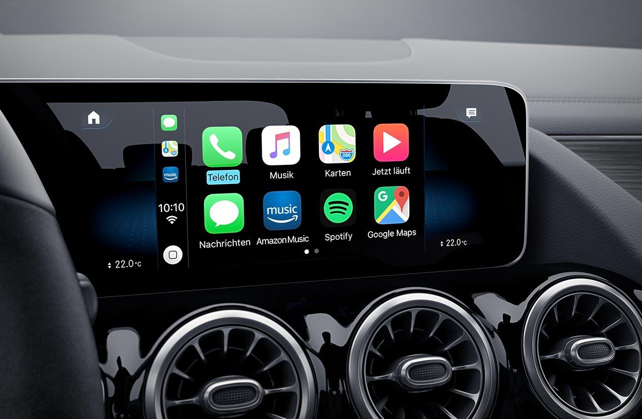 Interior Nueva Mercedes-Benz GLA 2021