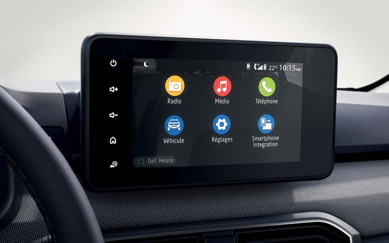 Pantalla multimedia Dacia Sandero 2021