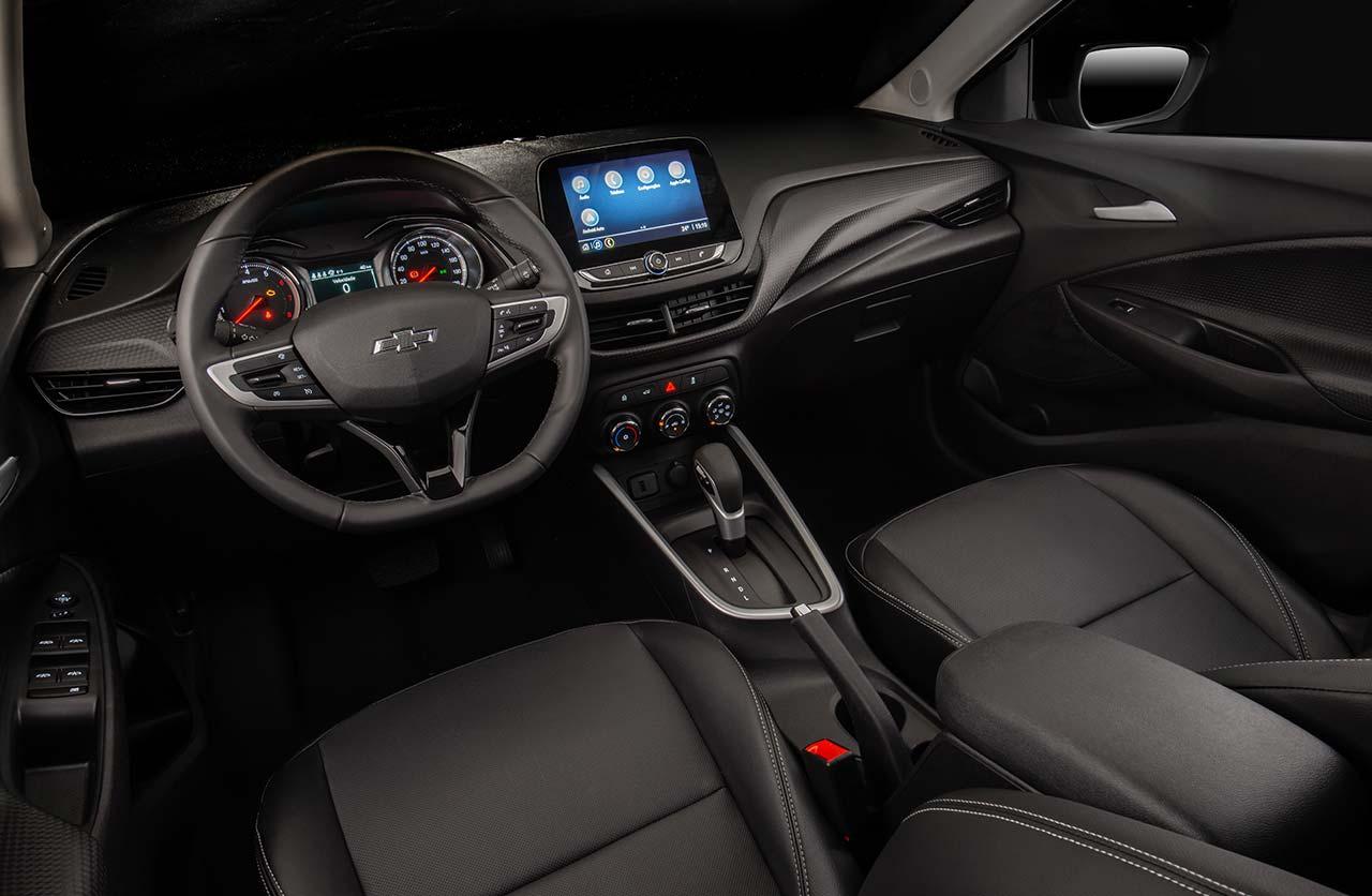 Interior Chevrolet Onix Plus Midnight