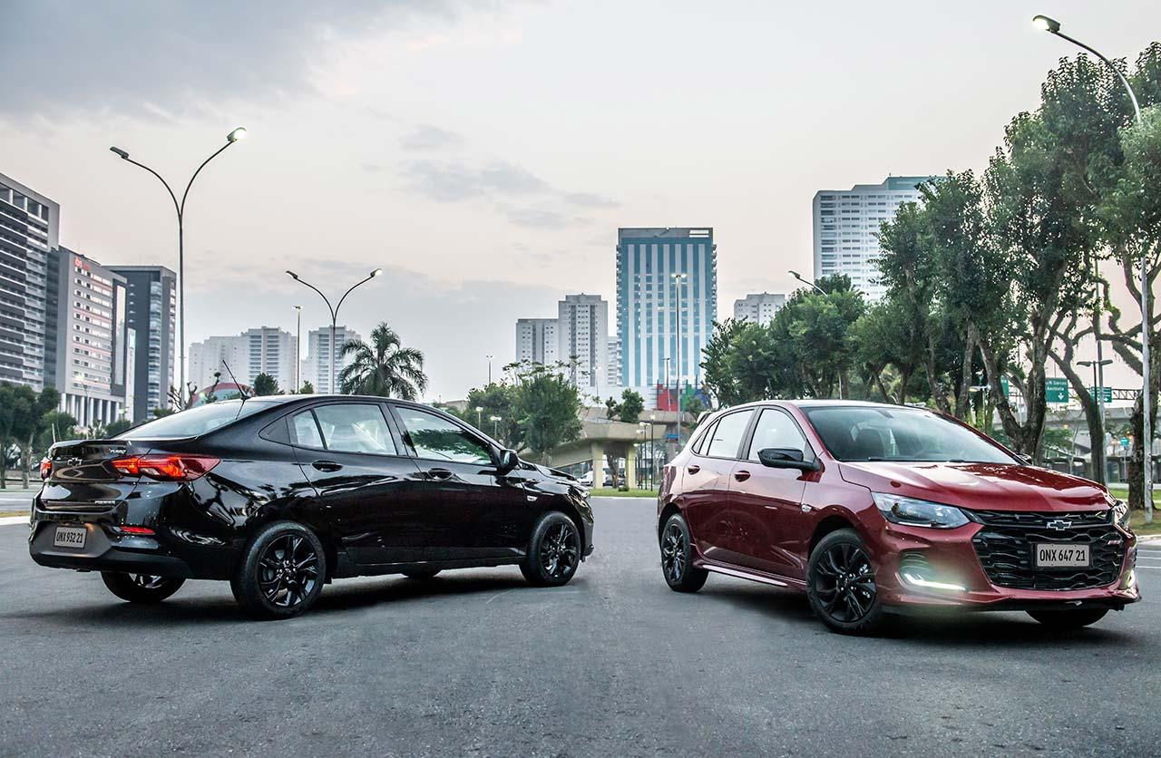 Con ustedes, los nuevos Chevrolet Onix RS y Onix Plus Midnight