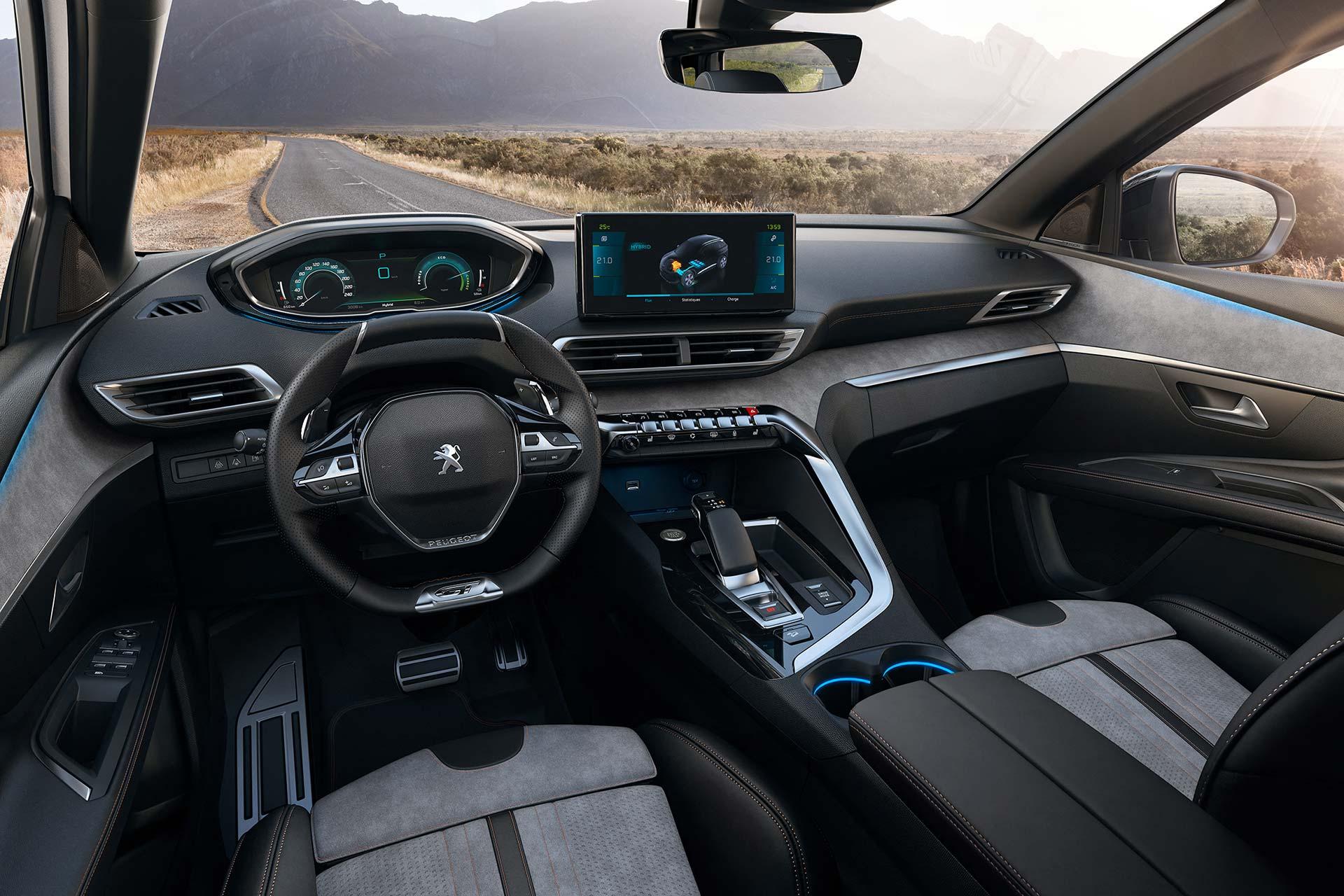 Interior Nuevo Peugeot 3008 restyling 2021