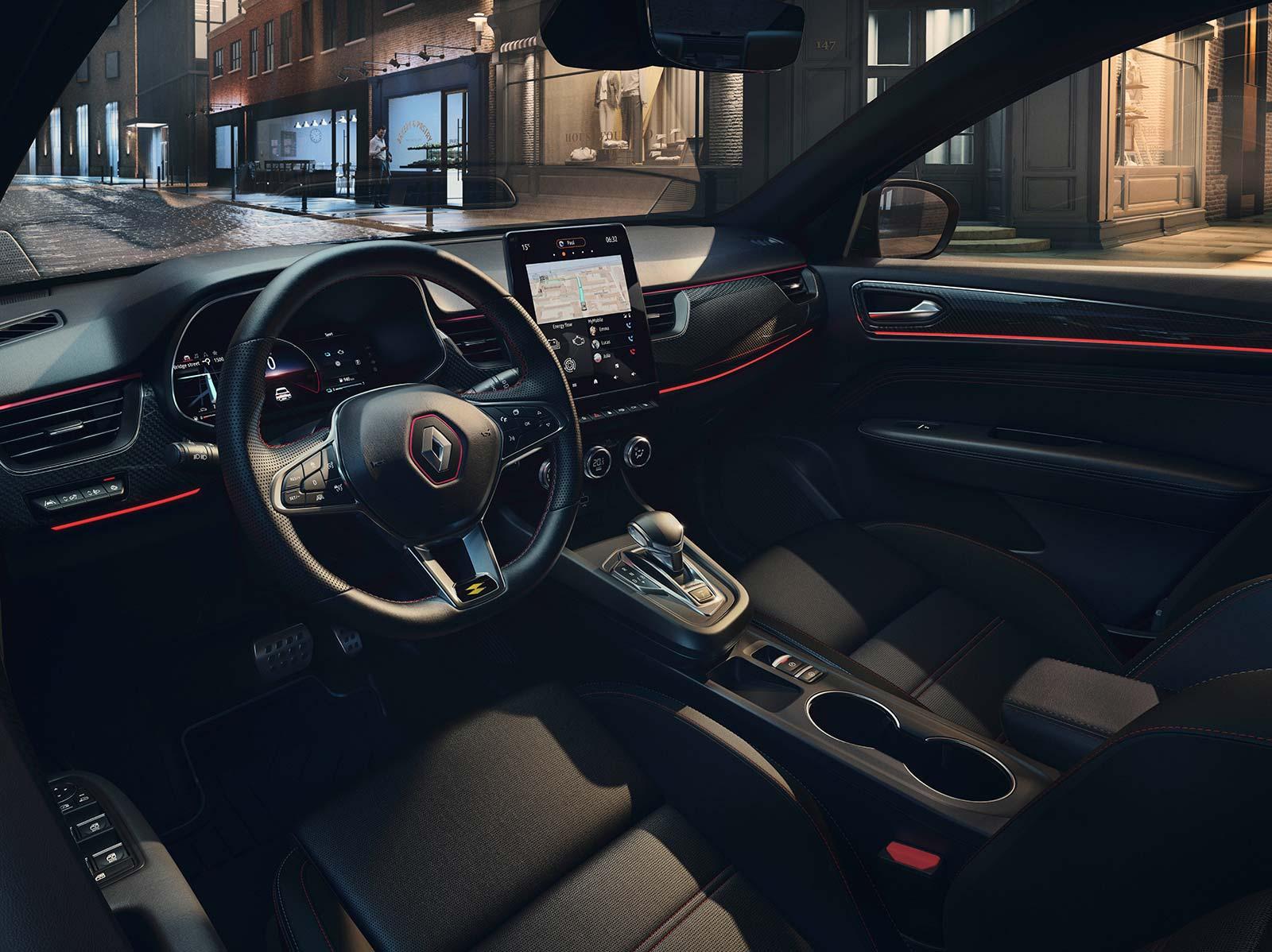 Interior nuevo Renault Arkana