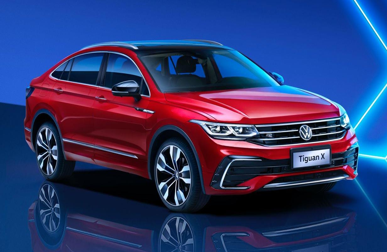 Así es la Volkswagen Tiguan X (coupé)
