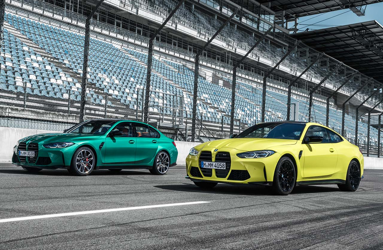 Nuevos BMW M3 y M4 Competition