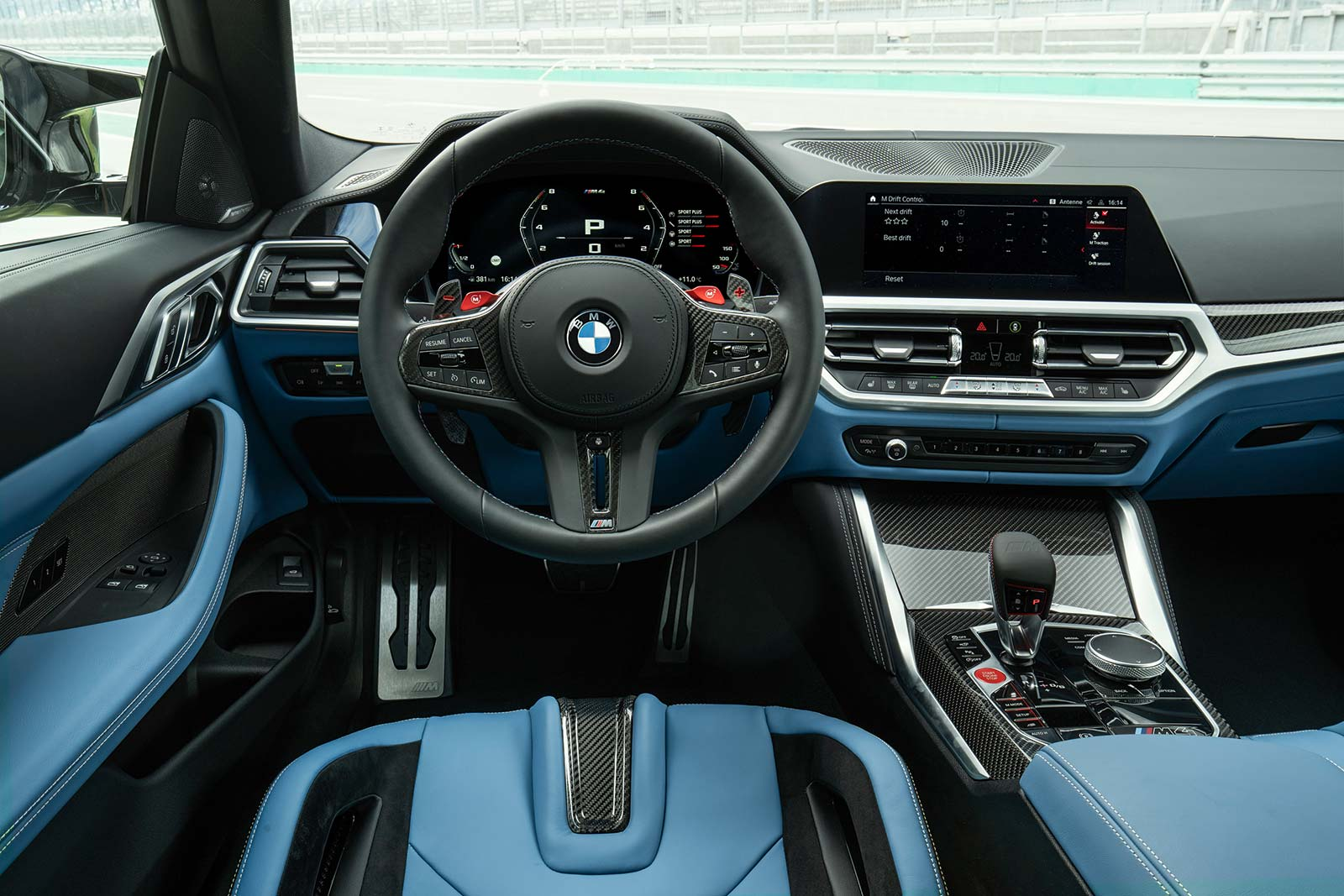 Interior Nuevo BMW M4 Competition